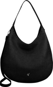 Vleder-Bag Schultertasche ANNE schwarz