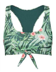 Damen Bikini Top mit floralem Muster