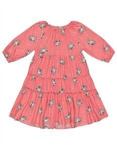Mädchen Kleid aus Viskose