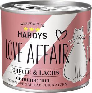 Hardys Love Affair Lachs & Forelle Katzenfutter nass 200G