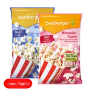 Seeberger Mikrowellen Popcorn ohne Palmöl