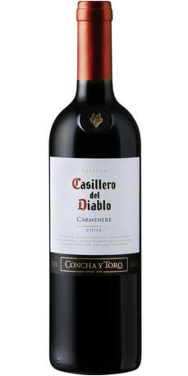 Concha y Toro Casillero del Diablo Carmenere 2018 0,75 ltr
