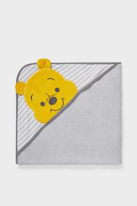 C&A Winnie Puuh-Baby-Badetuch, Grau, Größe: 1 size