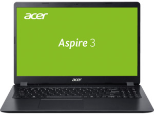ACER Aspire 3 (A315-56-37QB), Notebook mit 15,6 Zoll Display, Core i3 Prozessor, 8 GB RAM, 512 SSD, Intel UHD Grafik, Schwarz