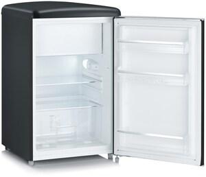 RKS 8832 Standkühlschrank mit Gefrierfach mattschwarz / D