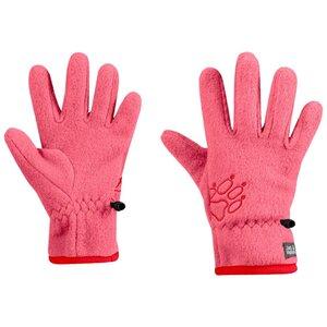 Jack Wolfskin Baksmalla Fleece Glove Kids Fleecehandschuhe Kinder 152 rot coral pink