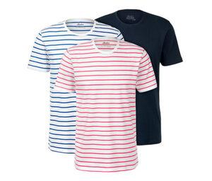 3 T-Shirts mit Rundhalsausschnitt