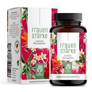 FRAUENSTÄRKE - Wirkkomplex gegen PMS- und Regelbeschwerden mit Inositol & Mönchspfeffer