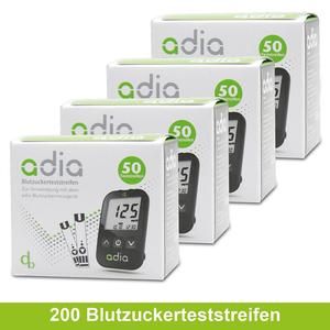 adia Blutzuckerteststreifen, 200 Stück