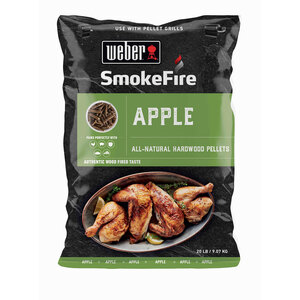 "Weber              Holzpellets ""SmokeFire"", 100% natürlich, Apfelholz"