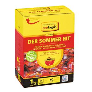 """Spezial-Tischgrill-Holzkohle """"Der Sommer-Hit"""", 1 kg"""