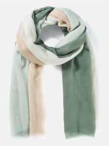 Leichter Schal mit Dégradé-Muster
