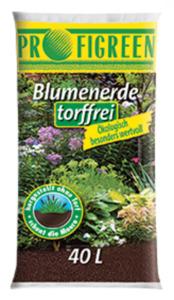 Blumenerde torffrei 40 Liter