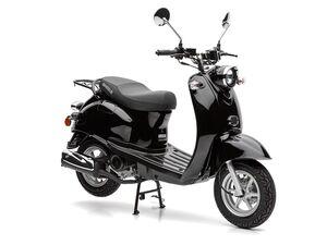 Nova Motors Motorroller »Retro Star«, Viertaktmotor, 49 cm Hubraum, stufenlose Automatik