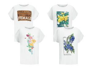 ADPT T-Shirt Damen, mit Ärmelumschlag