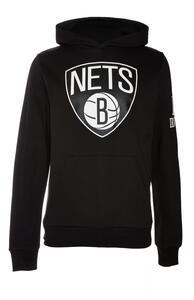 "Schwarzer ""NBA Brooklyn Nets"" Kapuzenpullover"