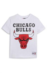 "Weißes ""NBA Chicago Bulls"" T-Shirt (kleine Jungen)"