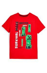 """Rotes """"Minecraft"""" T-Shirt (Teeny Boys)"""