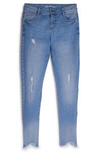 Blaue Jeans im Used-Look (Teeny Girls)