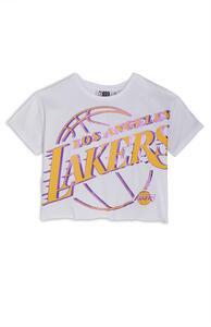 "Weißes ""NBA LA Lakers"" T-Shirt (Teeny Girls)"