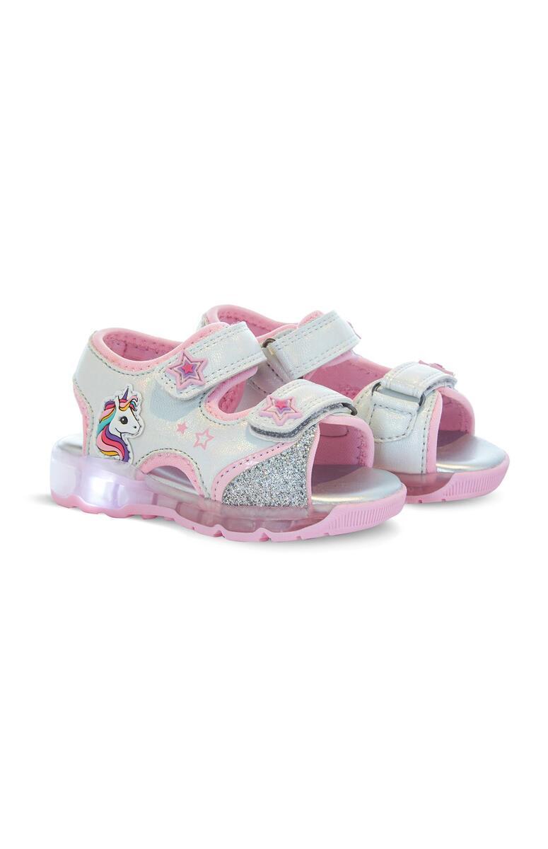 Sandalen mit Einhornmotiv (kleine Mädchen) von Primark