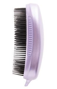 Dicke violette Locken-Entwirrbürste