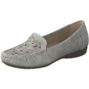 smiling for feet Mokassin Damen grau