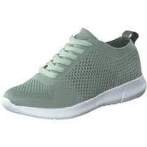 Inspired Shoes Schnürsneaker Damen grün