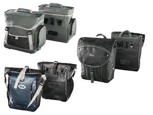 CRIVIT® Fahrrad-Gepäcktaschen, 2 Stück, mit Schutzhüllen