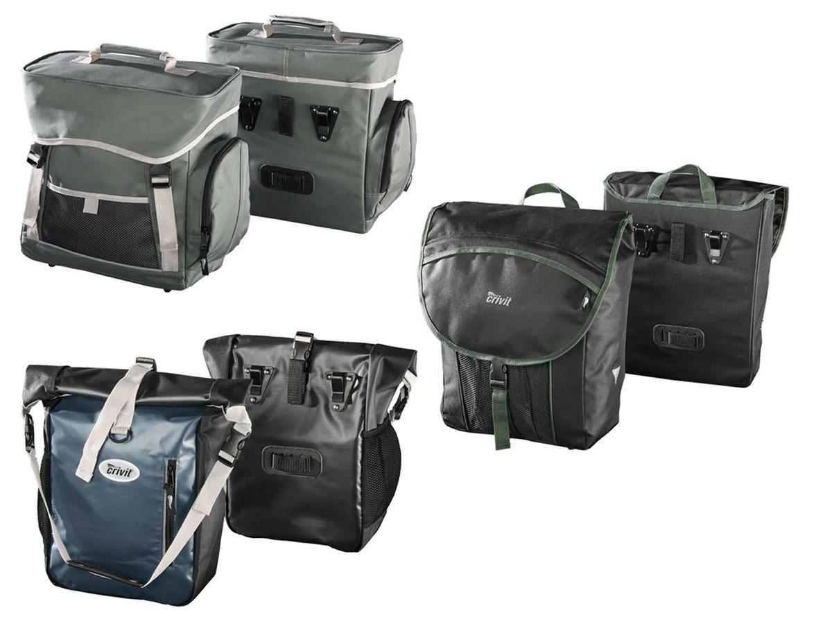 Bild 1 von CRIVIT® Fahrrad-Gepäcktaschen, 2 Stück, mit Schutzhüllen