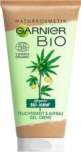 GARNIER Feuchtigkeitscreme »Bio-Hanf Feuchtigkeit & Aufbau Gel-Creme«, Naturkosmetik