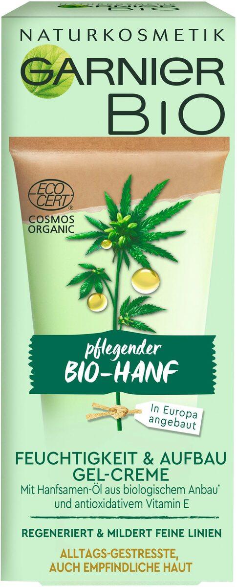 Bild 2 von GARNIER Feuchtigkeitscreme »Bio-Hanf Feuchtigkeit & Aufbau Gel-Creme«, Naturkosmetik