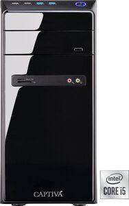 CAPTIVA I61-046 PC (Intel Core i5 11400, UHD Graphics, 8 GB RAM, 480 GB SSD, Luftkühlung)