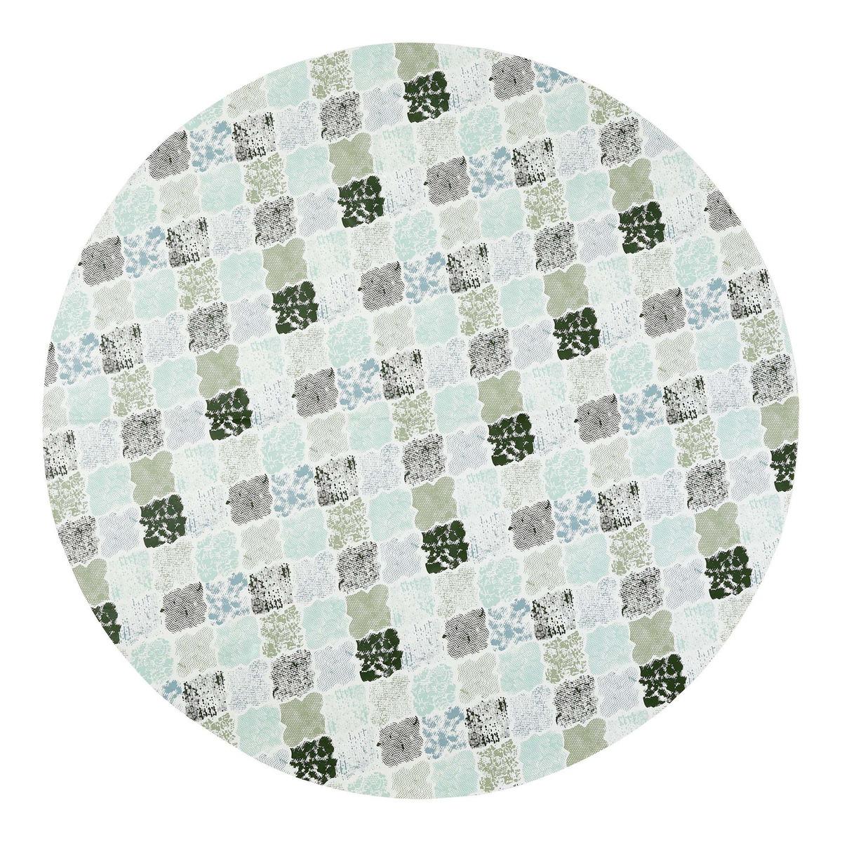 Bild 1 von Wachstuchtischdecke in verschiedenen Design, Ø ca. 140cm