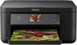 Epson Expression Home XP-5100 schwarz Multifunktionsdrucker (Tintenstrahldrucker, 3-in-1, Scanner, Kopierer, WLAN, A4, Duplexdruck, Speicherkarten-Slot)