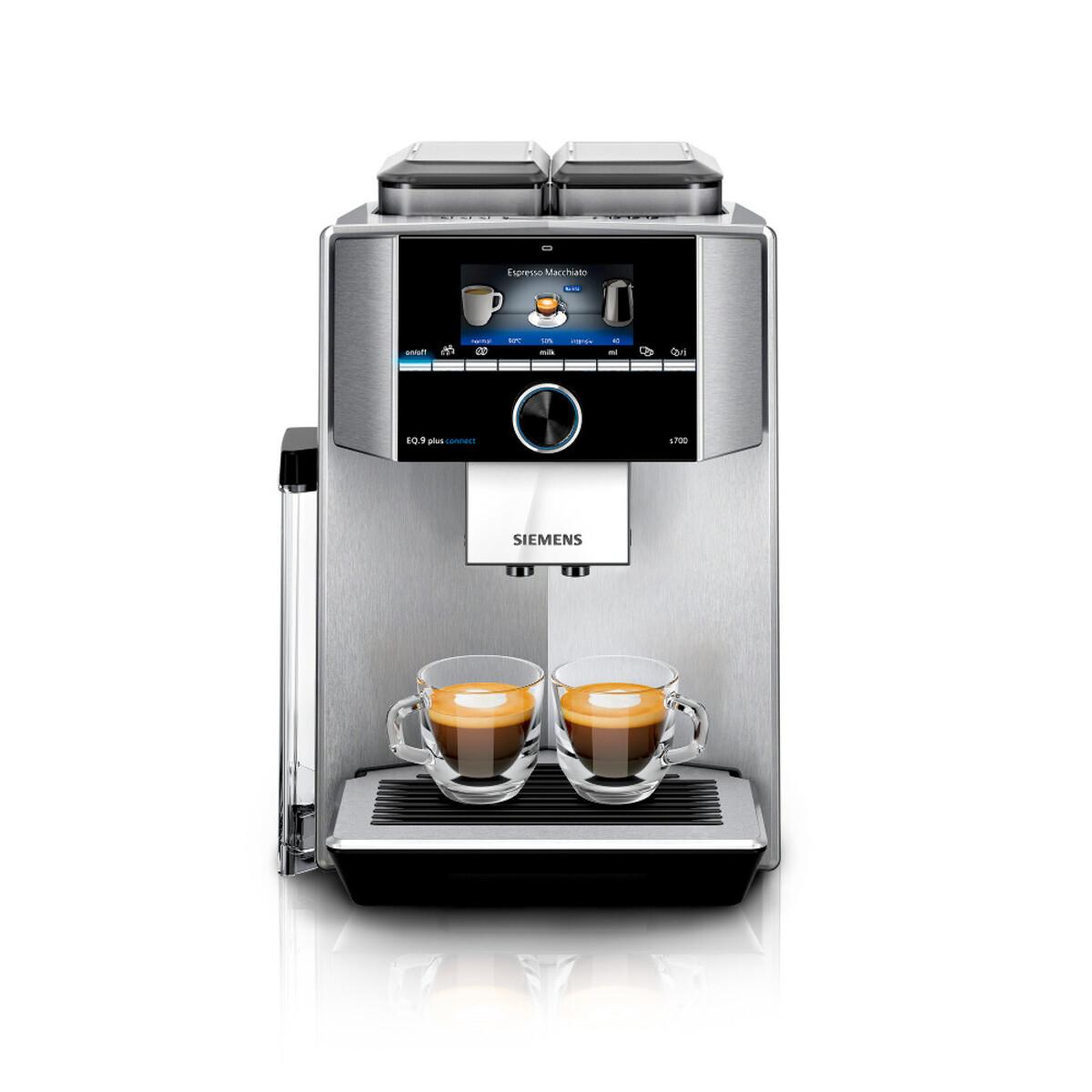 Bild 1 von SIEMENS EQ.9 plus connect s700 TI9578X1DE Edelstahl Kaffeevollautomat