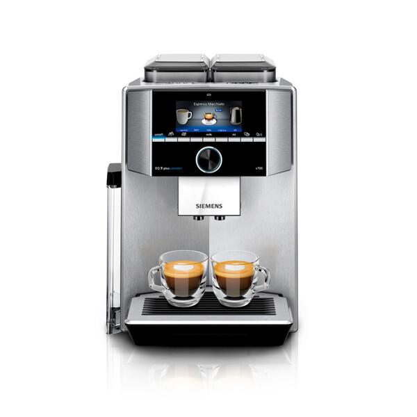 SIEMENS EQ.9 plus connect s700 TI9578X1DE Edelstahl Kaffeevollautomat