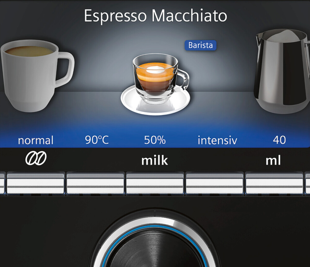 Bild 5 von SIEMENS EQ.9 plus connect s700 TI9578X1DE Edelstahl Kaffeevollautomat
