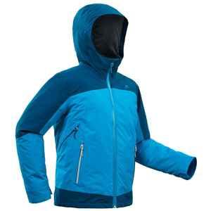 3-in-1-Jacke Winterwandern SH500 Extra-Warm Kinder Jungen 128-164cm