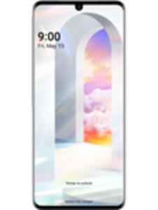 LG Velvet 5G 128GB weiß mit RED XL
