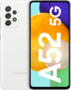 Samsung Galaxy A52 5G 128GB Awesome White mit Free unlimited Basic