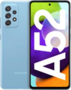 Samsung Galaxy A52 128GB Awesome Blue mit green LTE 6 GB