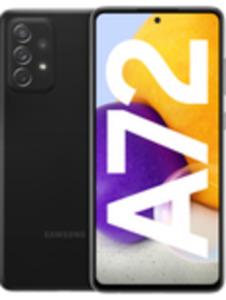 Samsung Galaxy A72 128 GB Awesome Black mit green LTE 18 GB