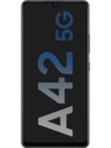 Samsung Galaxy A42 5G 128GB Prism Dot Black mit RED XS