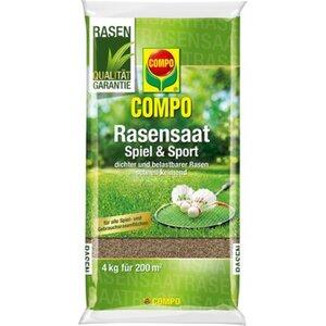 Compo Rasensaat Spiel und Sport Aktion 4 kg