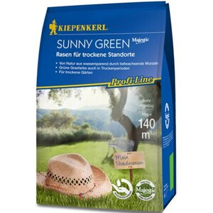 Kiepenkerl Profi-Line Sunny Green - Rasen für trockene Standorte 4 kg