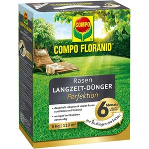 Compo Floranid Rasen-Langzeitdünger Perfektion 110 m² 5 kg