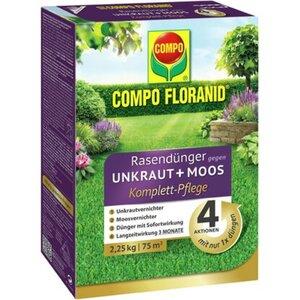 Compo Floranid® Rasendünger gegen Unkraut+Moos 4in1 2,25 kg