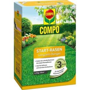 Compo Start-Rasen Langzeit-Dünger 1,5 kg