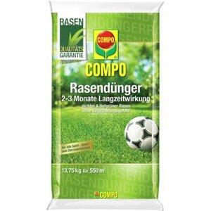 Compo Rasendünger mit Langzeitwirkung 13,75 kg für 550 m²